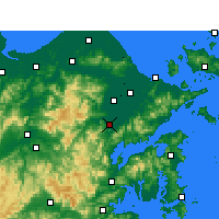 Nearby Forecast Locations - 奉化 - 图