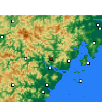 Nearby Forecast Locations - 永嘉 - 图