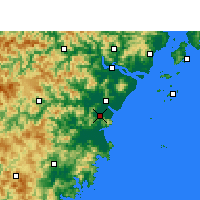 Nearby Forecast Locations - 平阳 - 图