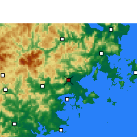 Nearby Forecast Locations - 莆田 - 图