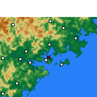 Nearby Forecast Locations - 厦门机场 - 图